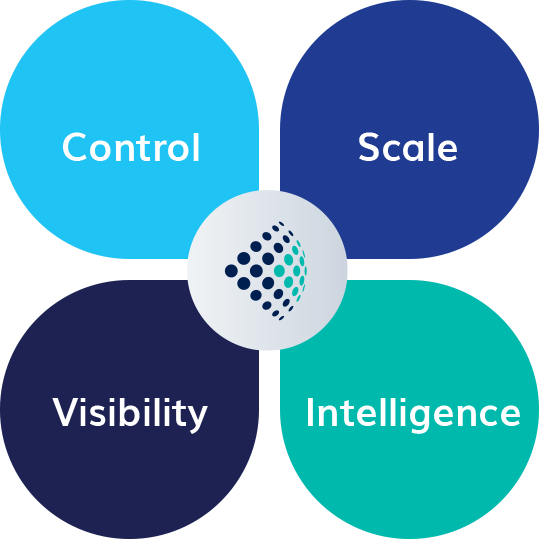 Scale, Visibility, Intelligence, and Control