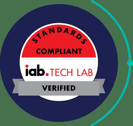 Standards Compliant iab Tech Lab Verified
