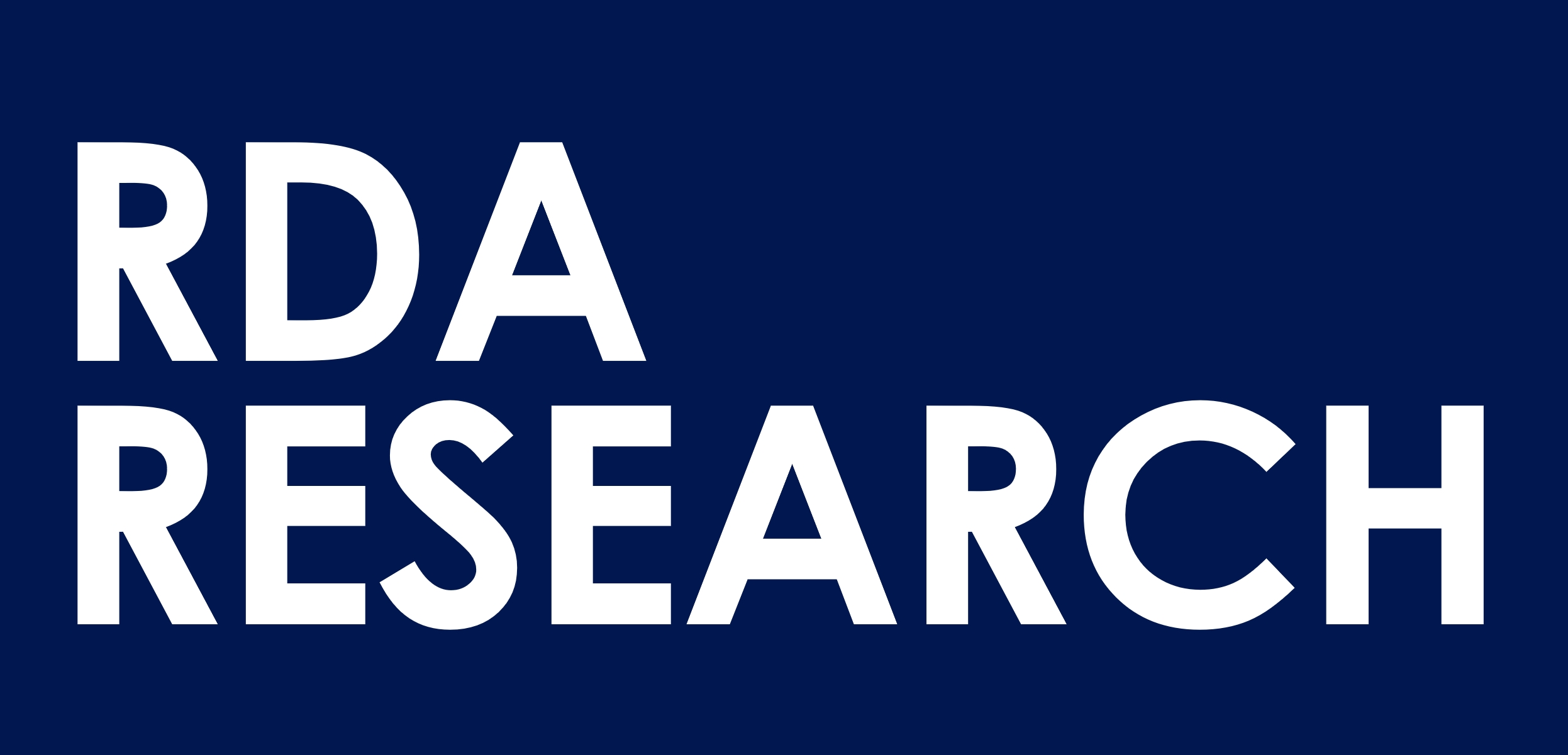 RDA Research logo