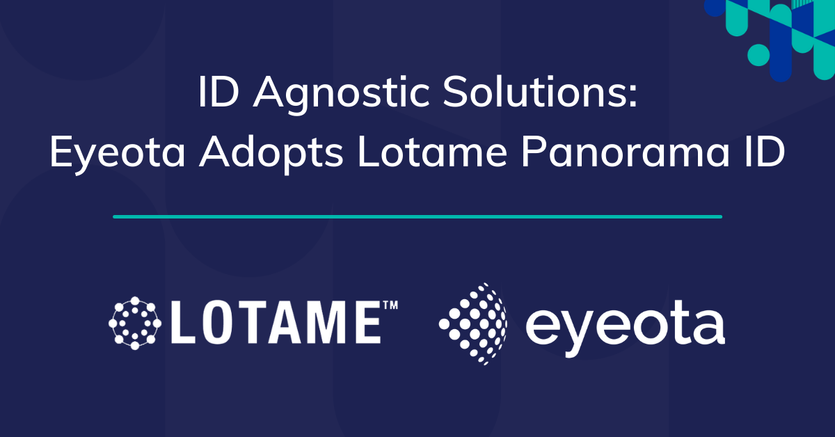 Eyeota Lotame Panorama ID