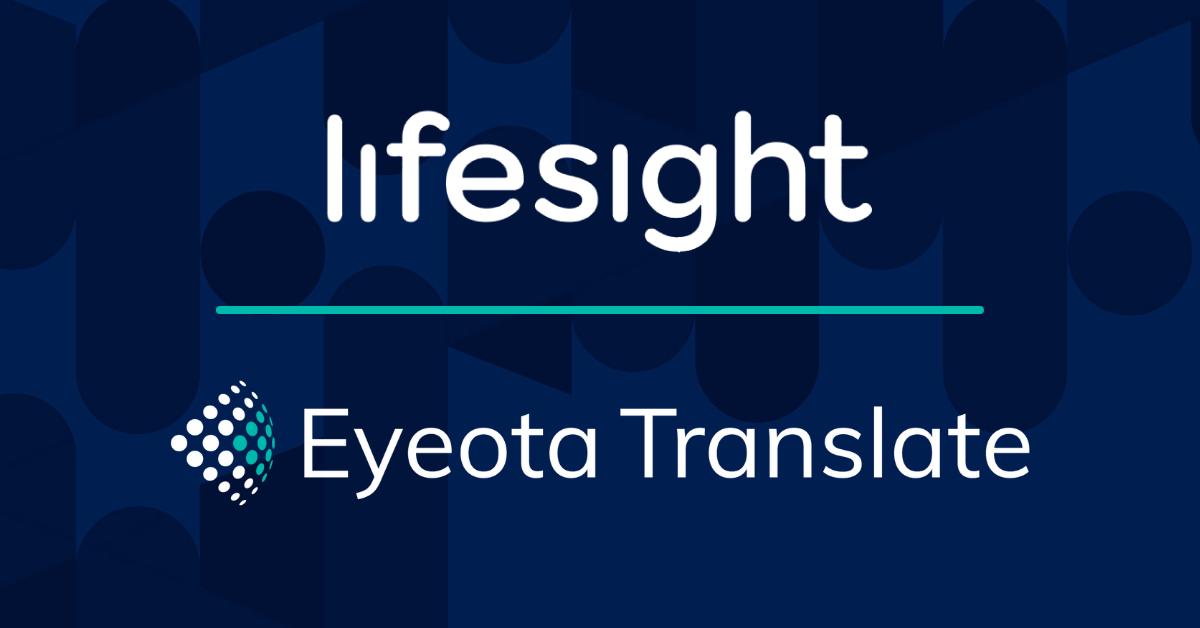 Eyeota Lifesight Partnership