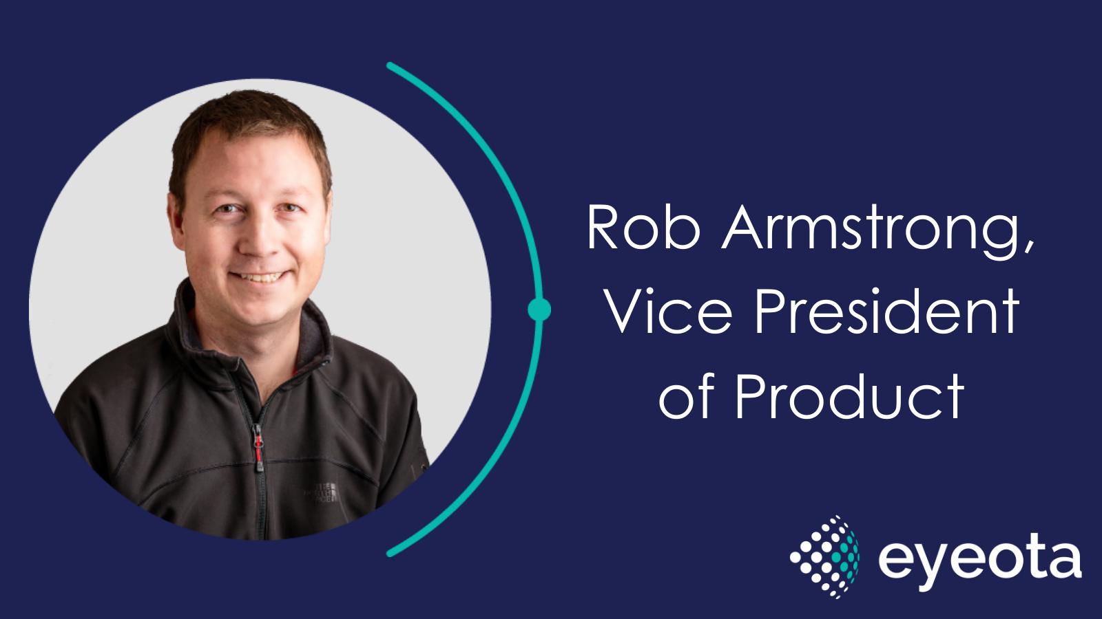 Rob Armstrong VP Product Eyeota