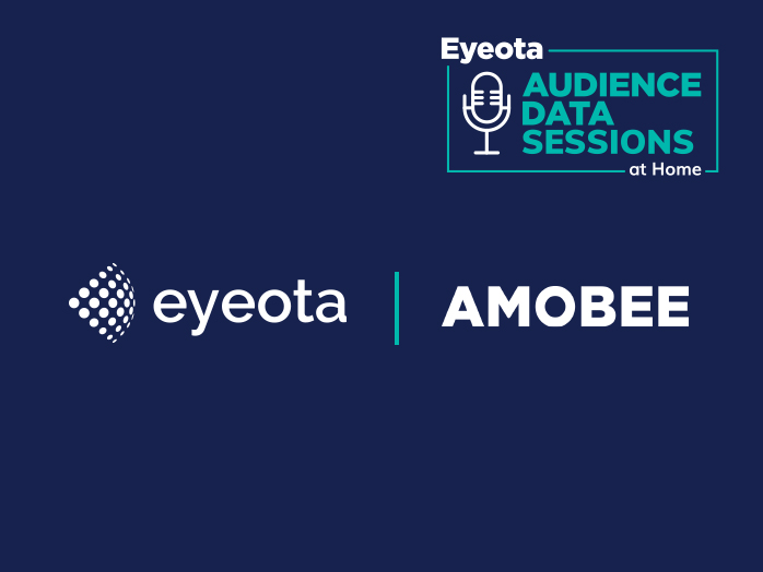 Eyeota Audience Data Sessions at Home, Eyeota, and Amobee logos