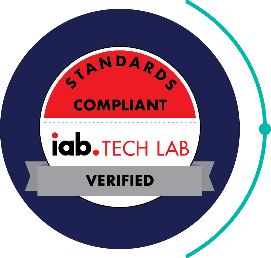 Standards Compliant iab Tech Lab Verified